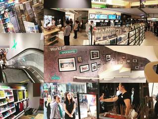 Watsons銅鑼灣三層旗艦店昨日開幕!