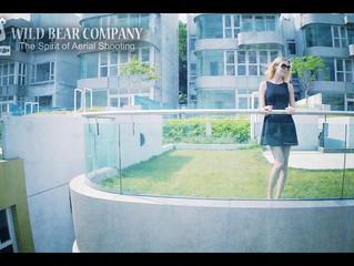拍攝新低密度豪宅《金臻》新宣傳片的航拍部分