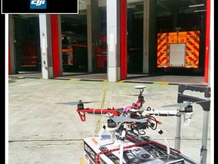 消防署購入F450+H3-3d航拍飛行器