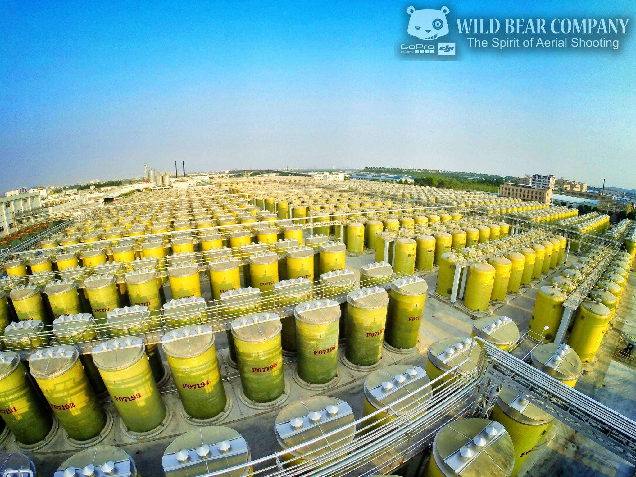 Wild Bear Company為《李錦記》廣州1700畝的生產廠房航
