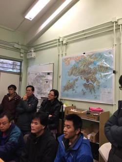 香港漁濃署航拍系統tour演講中