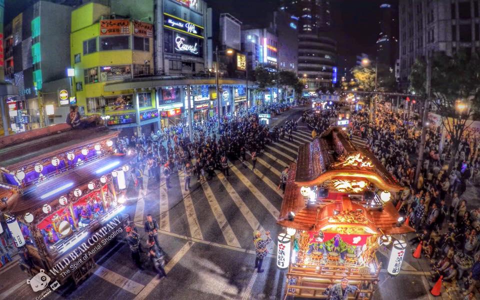 2015靜岡縣浜松祭航拍工作day2!