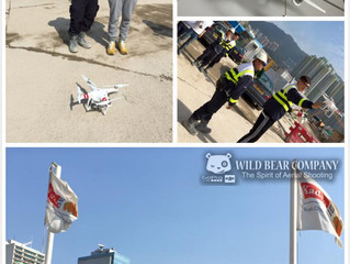 基利俊和聯營—啟德發展計劃。 經過今天Wild Bear Company教學後,開始使用航拍機了