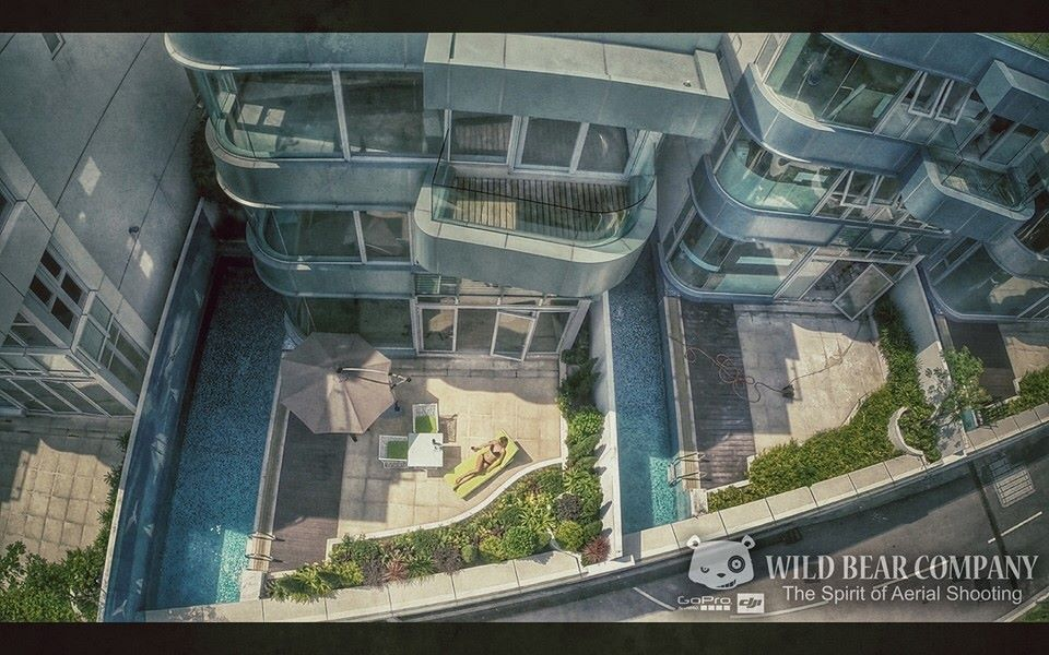 Wild Bear Co. 拍攝新低密度豪宅《金臻》新宣傳片的航拍部分