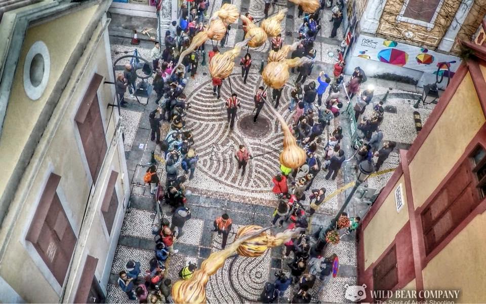 澳門《慶祝澳門回歸祖國十五周年 拉丁城區幻彩大巡遊》