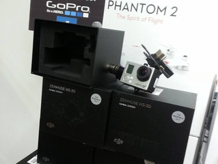 最新的H3-3d 雲台及phantom2 已經到貨。