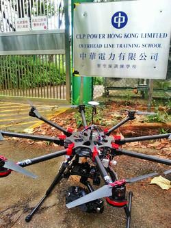 Wild Bear Company為《中華電力有限公司》新廣告航拍高難度