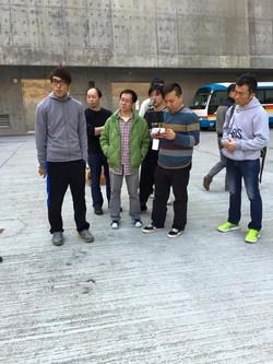 香港理工大學入手飛行器同日進行教學及示範講解