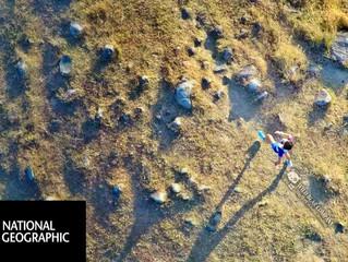 首次為《National Geographic》國家地理頻道航拍。