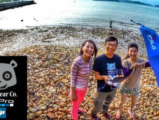 TVB EUROPE 的<活得好EASY>預告片心形石的航拍片段
