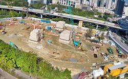 《新世界發展有限公司》航拍荃灣新建項目