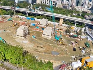 早上為客戶《新世界發展有限公司》航拍荃灣新建項目!