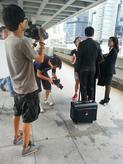 """拍攝""""香港律政署""""新宣傳片的所有航拍部分"""