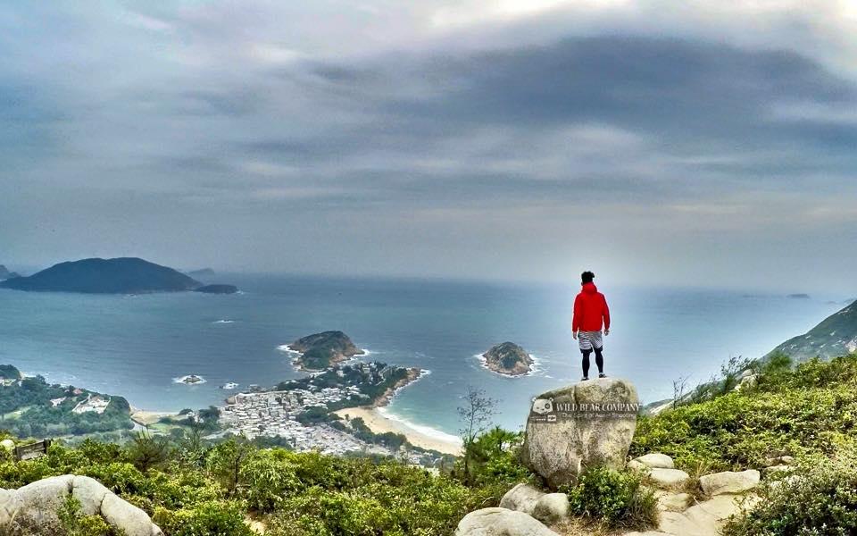 Nowtv 《山步行2》宣傳片航拍。