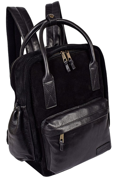 Classic Leather and Suede Daypack