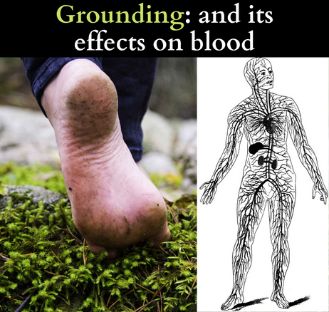 Grounding: and its effects on blood