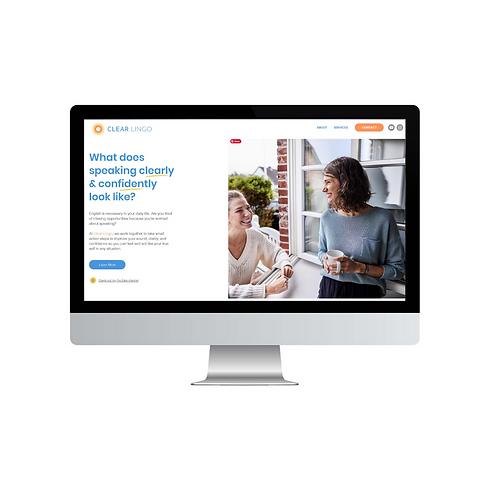 Website Screenshot - Clear Lingo.png