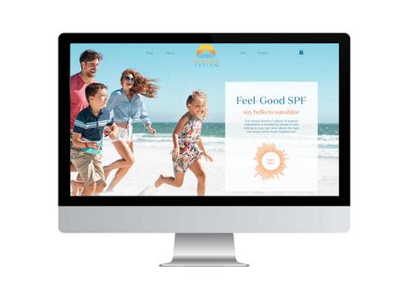 NEW WEBSITE: SUMMER LOTION