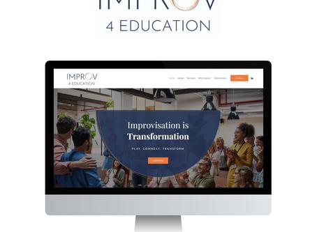 SITE DESIGN: IMPROV 4 EDUCATION