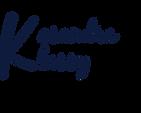 Kasandra Klassy Logo - Dark Blue.png