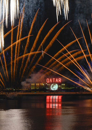 Musical Fireworks, 2017, Qatar