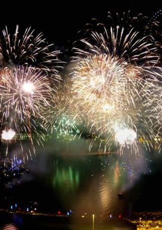 Musical Fireworks & Drone Show, 2020, Qatar