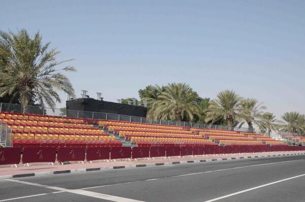 Public Grandstand, 2013, Qatar
