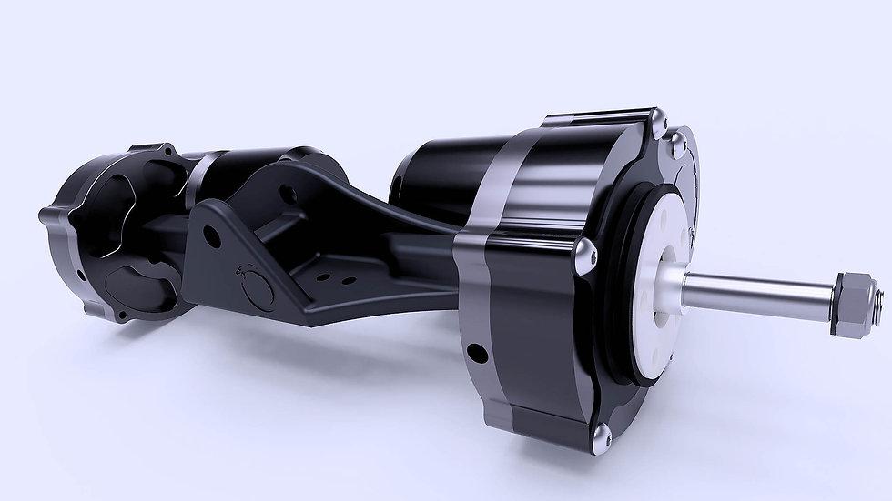 Helical Gear drive 4:1