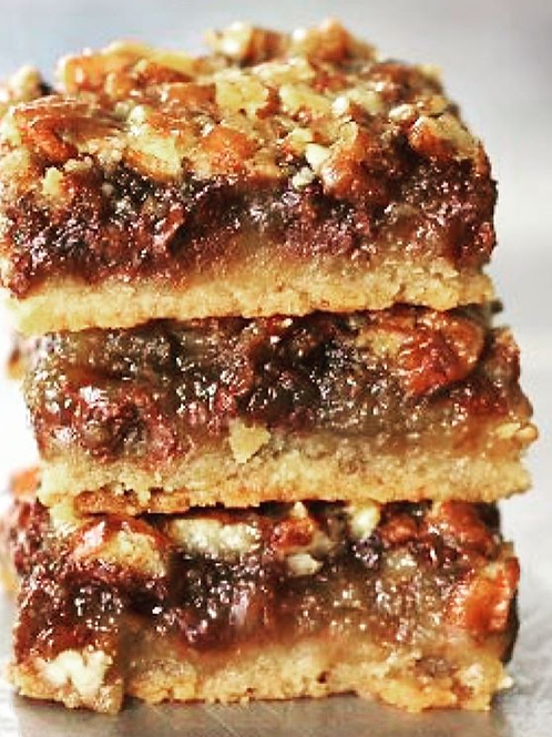 CHOCOLATE CHIP PECAN BAR