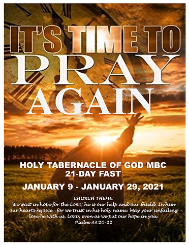 It's Time to Pray Again Fast Journal 202
