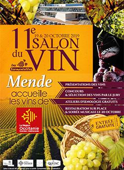 Retrouvez nous au Salon du Vin à Mende !