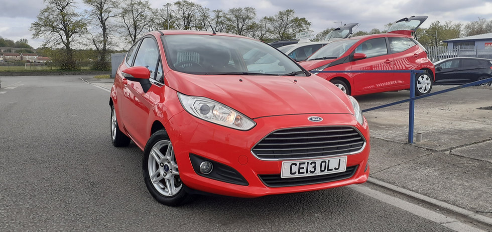 """2013 """"13"""" Ford Fiesta 1.25 Zetec 3 door"""