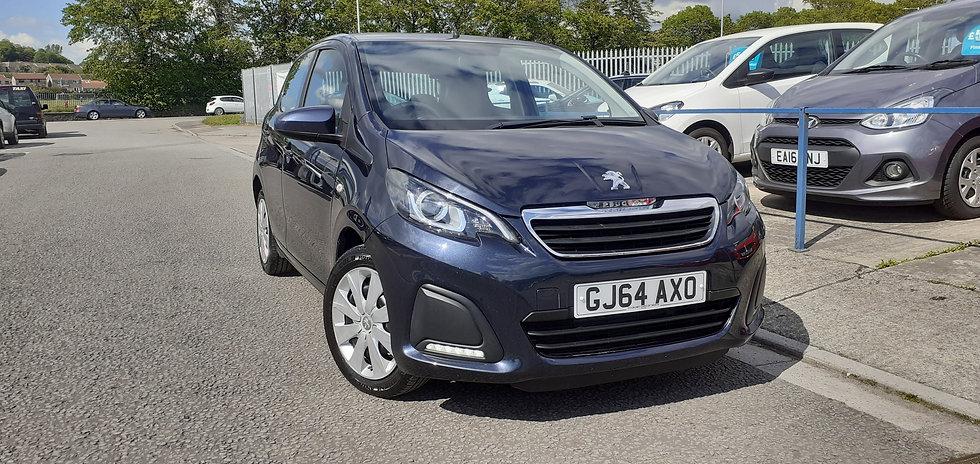"""2014 """"64"""" Peugeot 108 1.0 Active 5 door"""