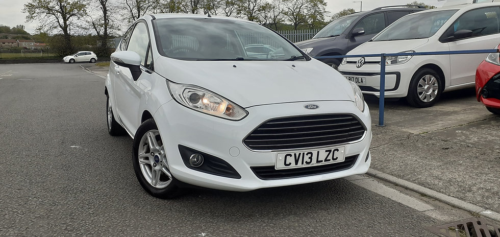 "2013 ""13"" Ford Fiesta 1.25 Zetec 3 door"