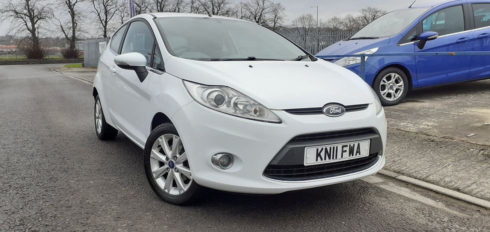 "2011 ""11"" Ford Fiesta 1.2 Zetec 3 door"