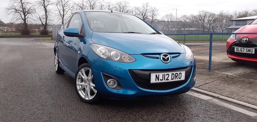 """2012 """"12"""" Mazda 2 1.5 petrol Sport 3 door"""