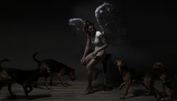Dark Angel Photo Shoot