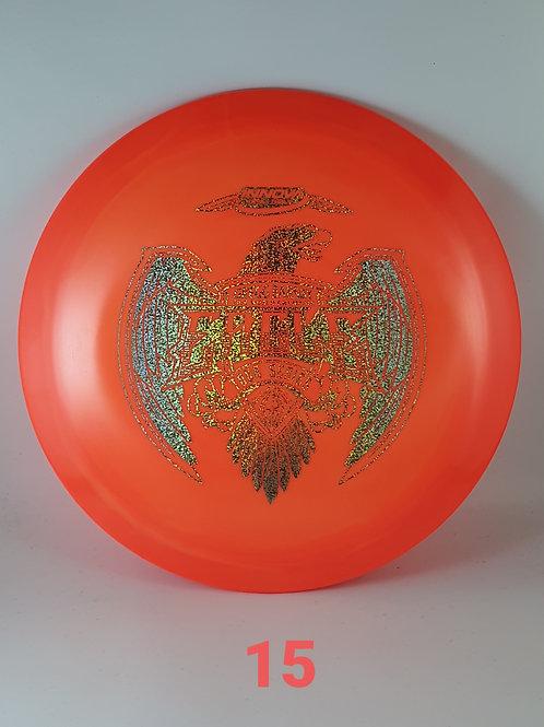 Gregg Barsby 2021 Tour Series Eagle ~ #15 Orange/Sparkle Foil ~ 173-5g