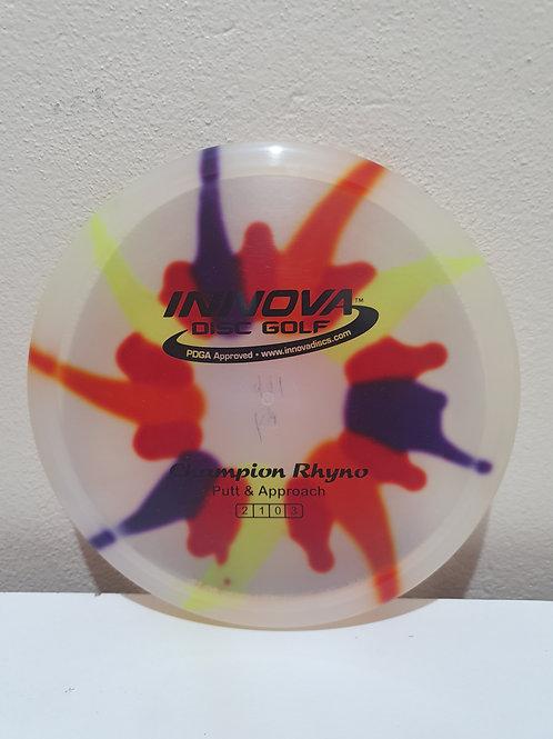 I-Dye Champion Rhyno ~ 2, 1, 0, 3