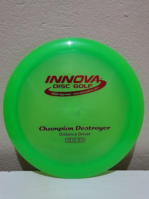Champion Destroyer ~ 12, 5, -1, 3