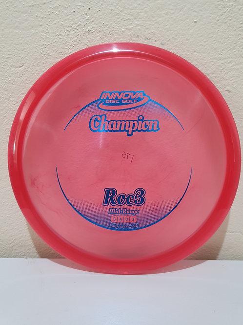 Champion Roc3 ~ 5, 4, 0, 3