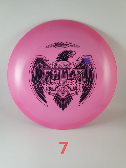 Gregg Barsby 2021 Tour Series Eagle ~#7 Pink/Purple foil ~ 173-5g
