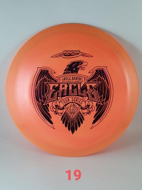 Gregg Barsby 2021 Tour Series Eagle ~ #19 Orange/Purple Foil ~ 173-5g