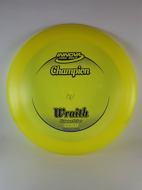 Champion Wraith ~ 11, 5, -1, 3