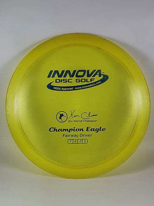*USED* Champion Eagle ~ 7, 4, -1, 3