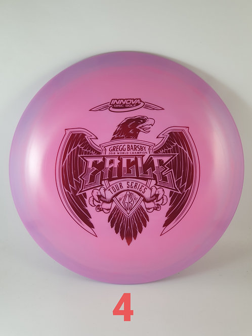 Gregg Barsby 2021 Tour Series Eagle ~ #4 Purple/Red foil ~ 173-5g