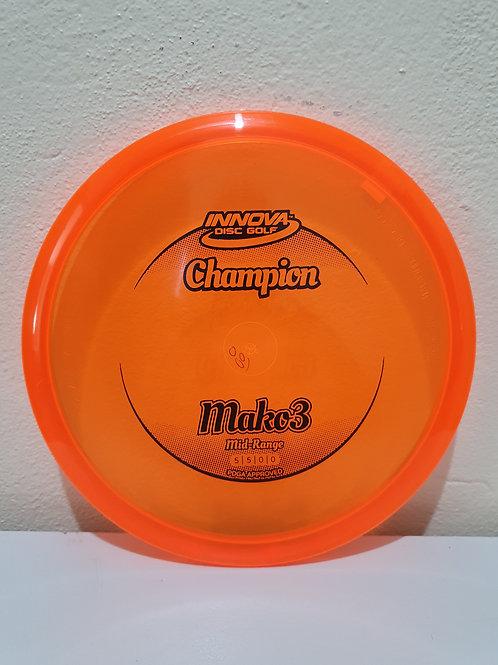 Champion Mako3 ~ 5, 5, 0, 0