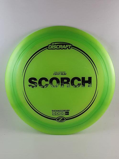 First Run Z Scorch ~ 11, 6, -2, 2