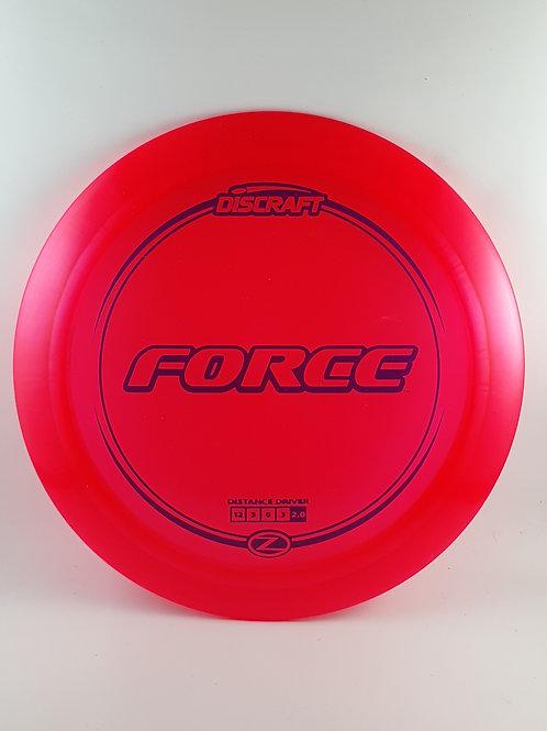 Z Force ~ 12, 5, 0, 3