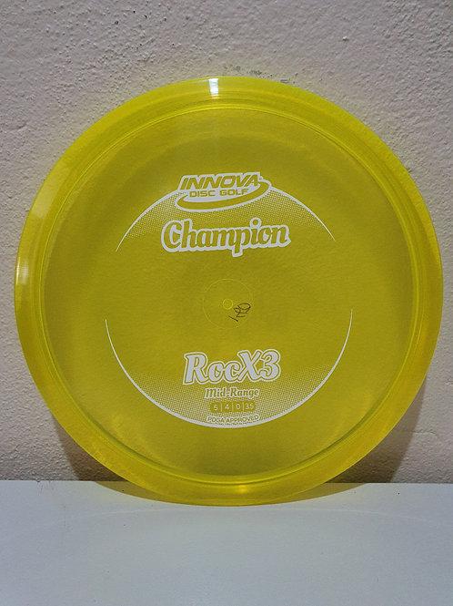 Champion RocX3 ~ 5, 4, 0, 3.5